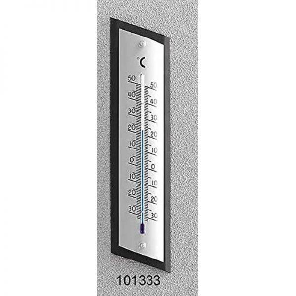 Termometro da interno ed esterno in alluminio