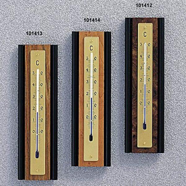 Termometro da interno in legno